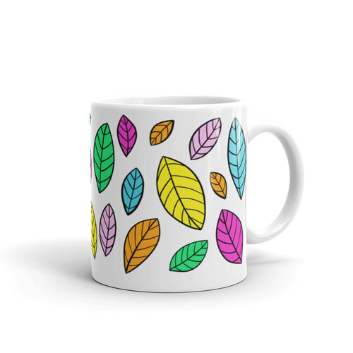 Colorful Leaves Mug