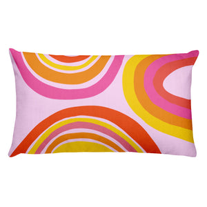 Rainbow Throw Pillow (2 sizes available)