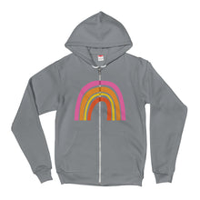 Rainbow Unisex Hoodie Sweatshirt (3 color options)