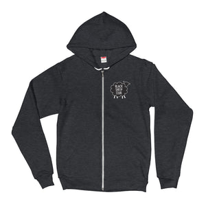 Black Sheep Club Unisex Zipper Hoodie (3 color options)