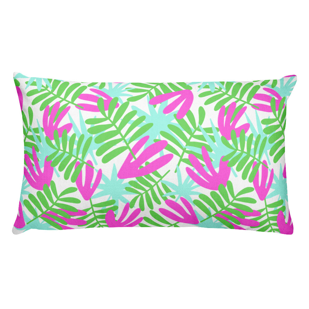 Tropical Throw Pillow (2 size options)