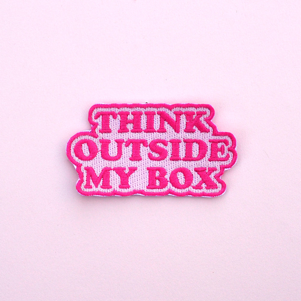 Think Outside My Box Patch