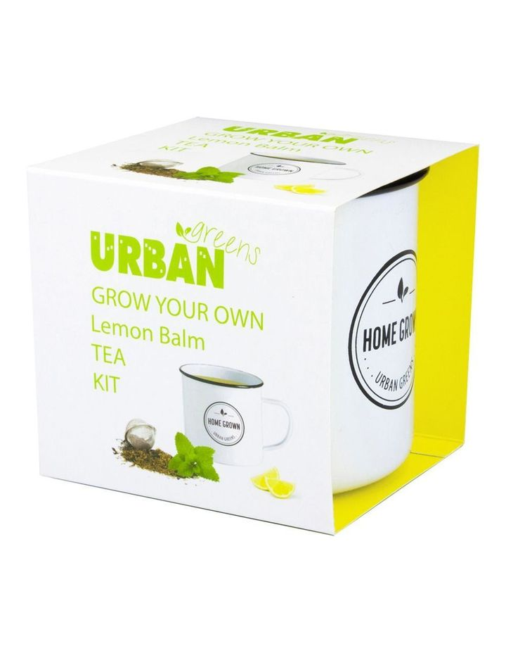Grow Your Own Lemon Balm Tea Kit