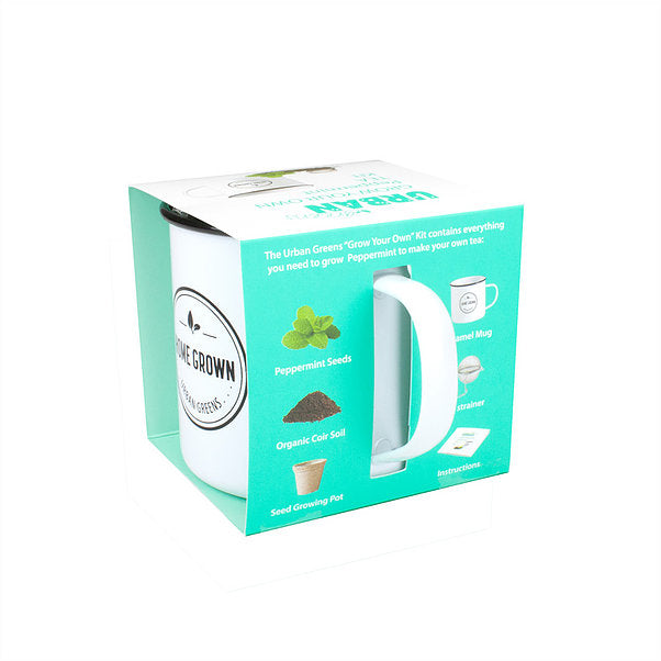 Grow Your Own Peppermint Tea Kit