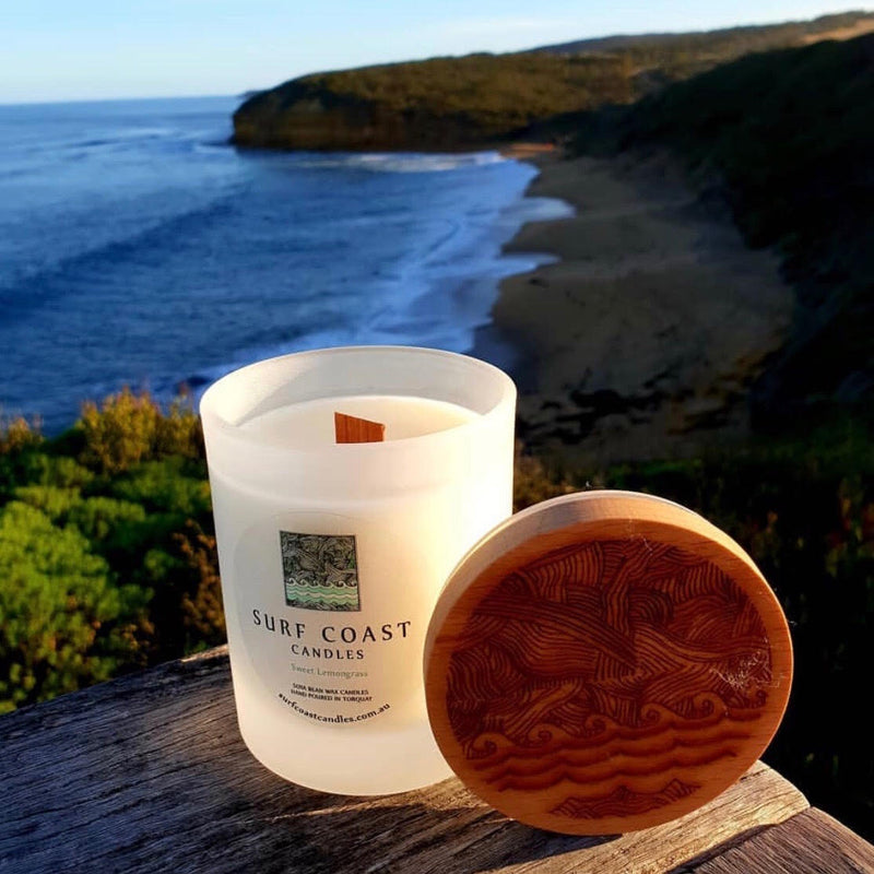 Medium Timber Reef Lid Surf Coast Candles