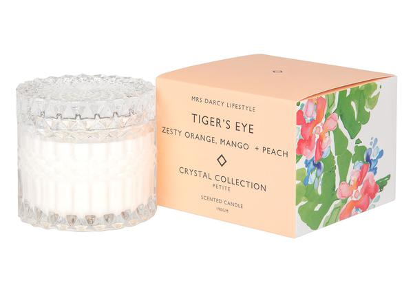 Mrs Darcy Petite Candle - Tigers Eye