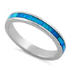Sterling Silver  Stella Blue Ring