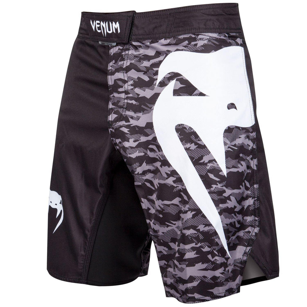 VENUM LIGHT 3.0 FIGHT SHORT - BLK/URBAN CAMO, S - mmafightshop.ae