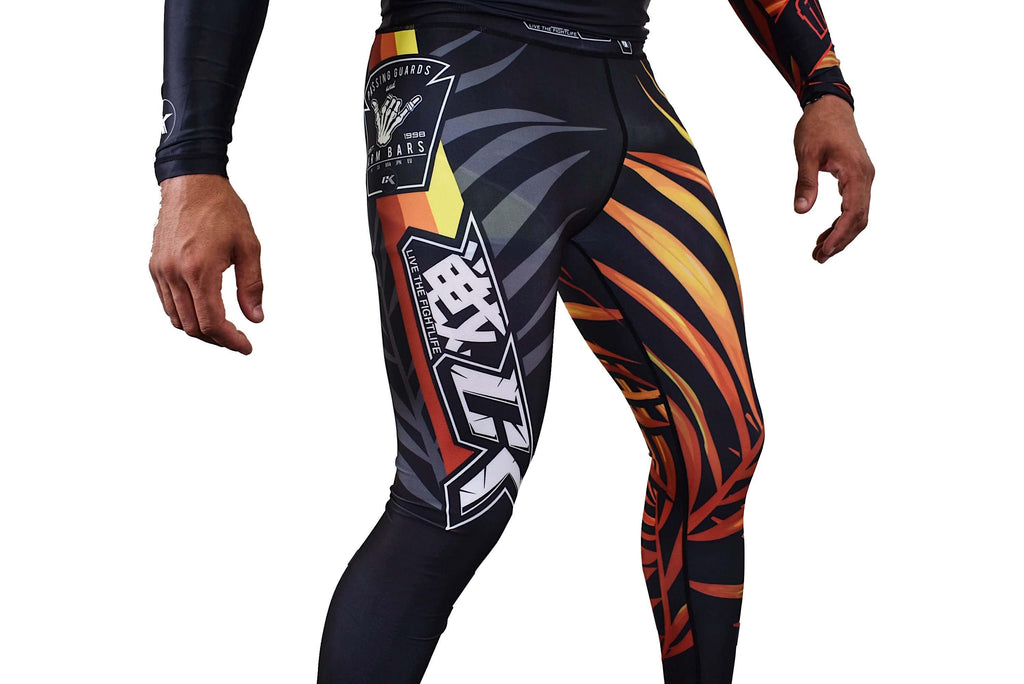 Contract Killer Dem Bones Fire Spats - mmafightshop.ae