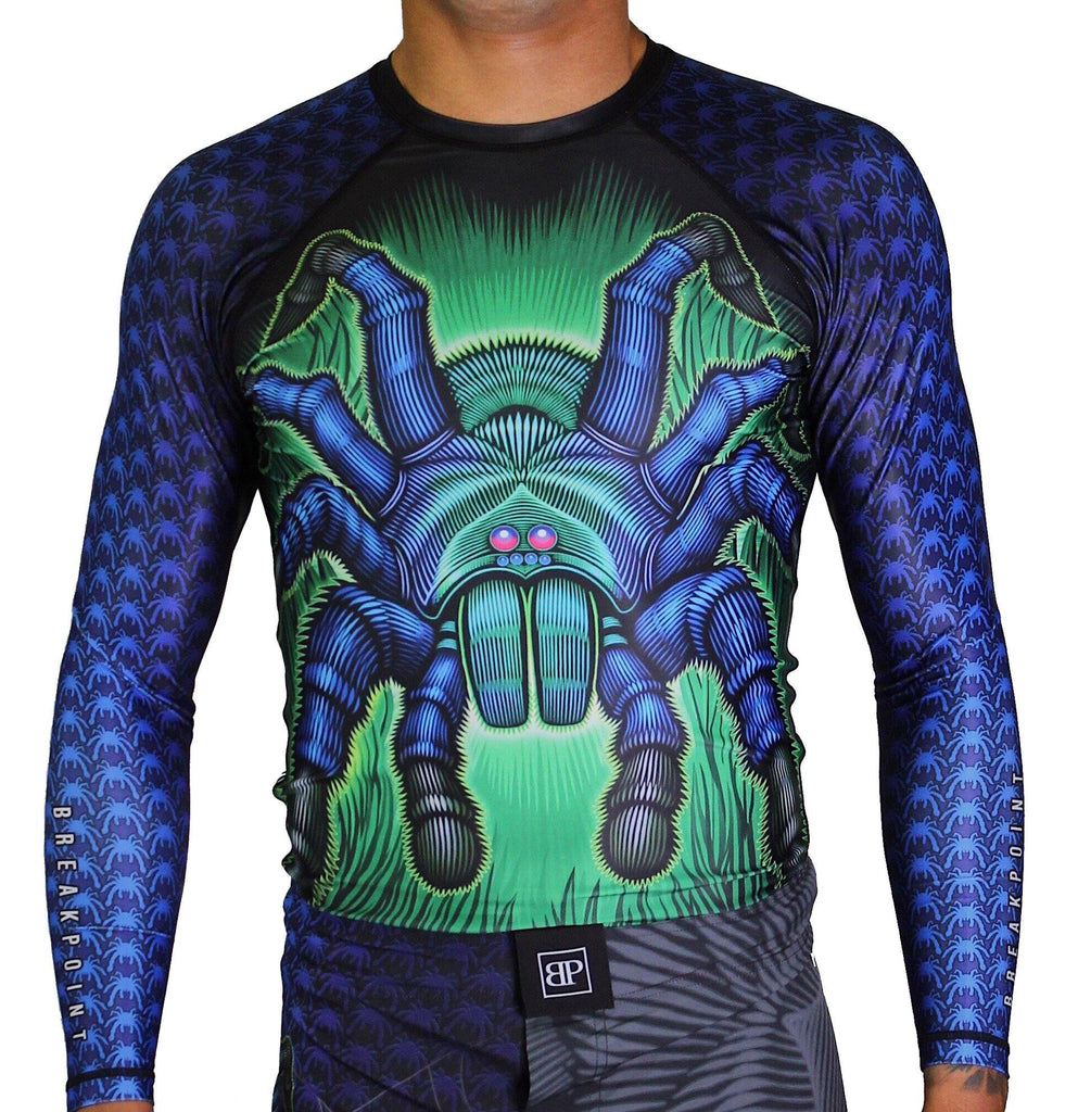 Break Point Tarantula Jiu-Jitsu Rash Guard - mmafightshop.ae
