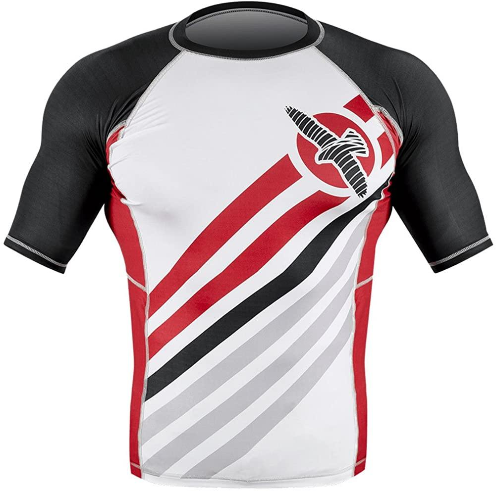 ELEVATE RASH GUARD Short Sleeve - mmafightshop.ae