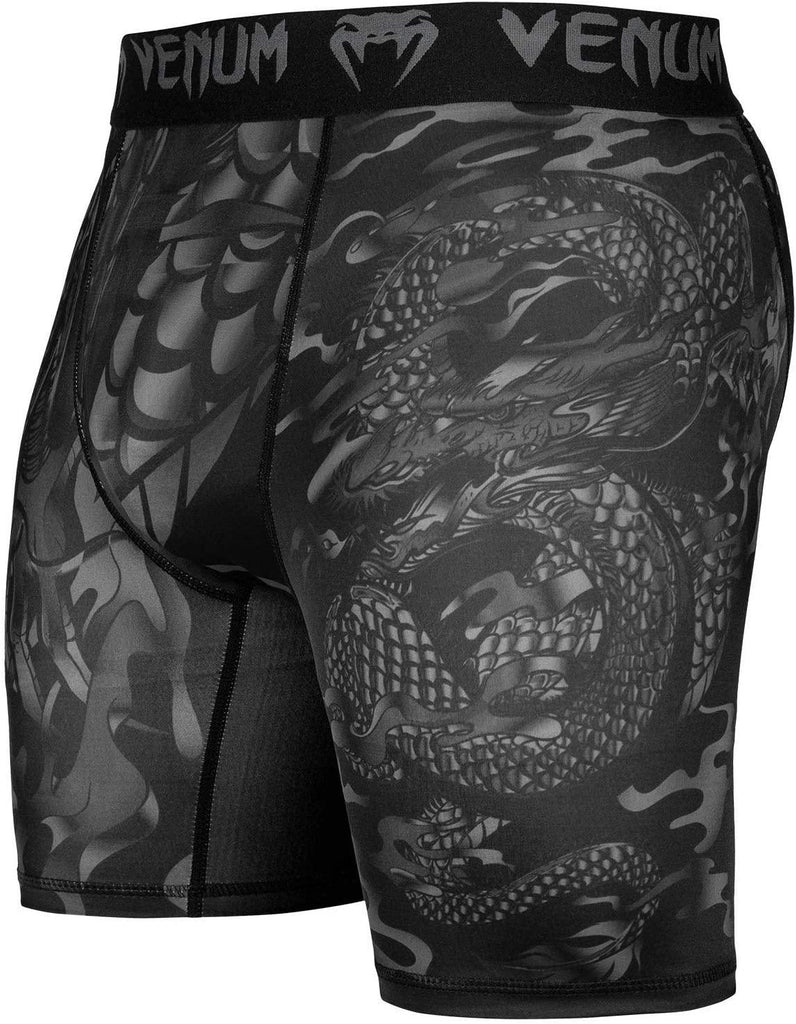 VENUM DRAGON FLIGHT COMPRESSION SHORT - BLK - mmafightshop.ae