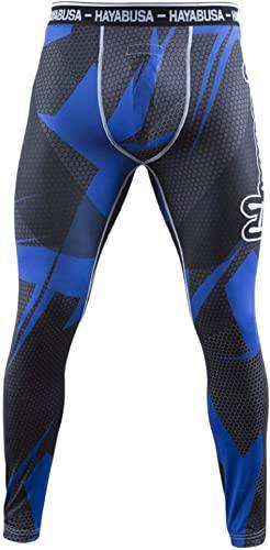 METARU 47 SILVER COMPRESSION PANTS - mmafightshop.ae