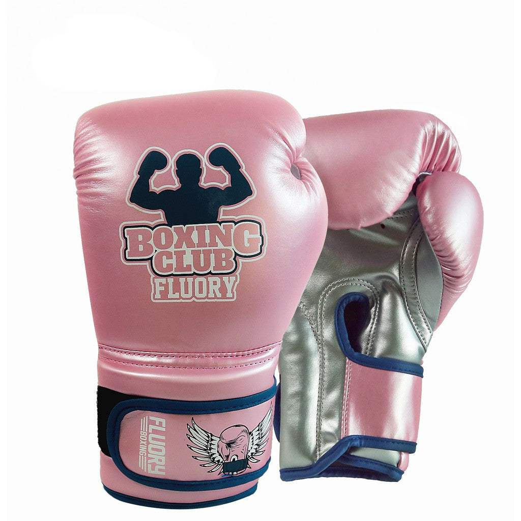 Fluory Boxing Gloves - BGF04 - Grey - 6 oz