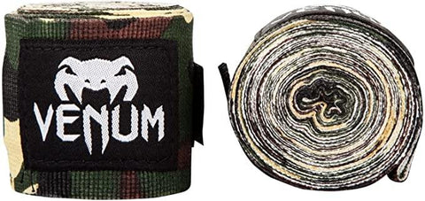 VENUM BOXING HANDWRAP 4.0MM FOREST CAMO