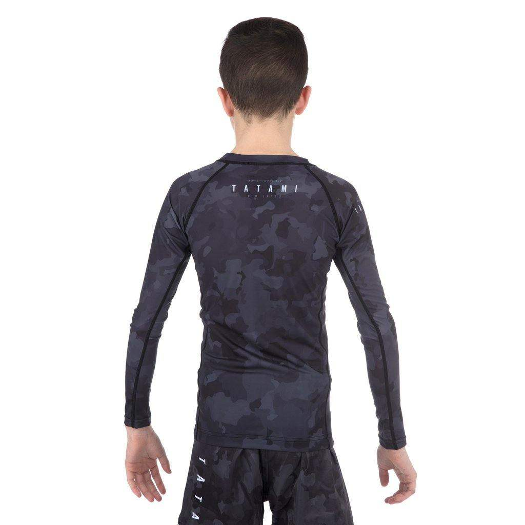 Kids Stealth Long Sleeve Rash Guard - mmafightshop.ae