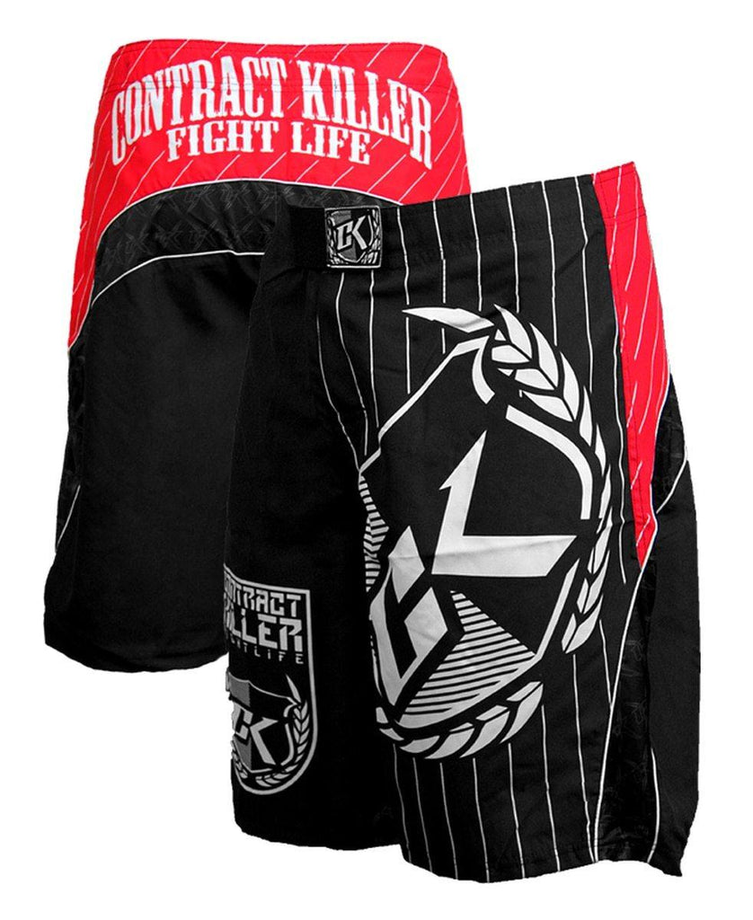 Contract Killer Shorts Circuit - Red - mmafightshop.ae