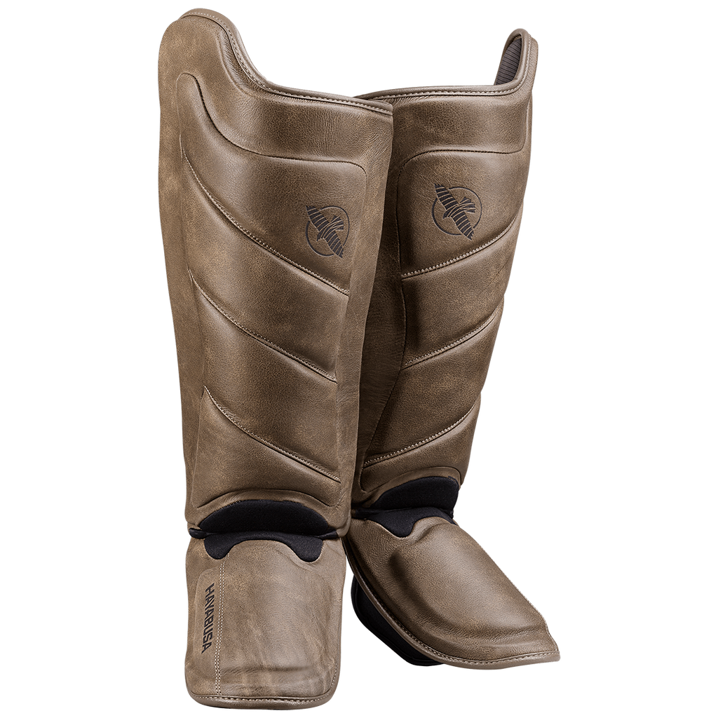 T3 LX Striking Shinguards - Brown - mmafightshop.ae
