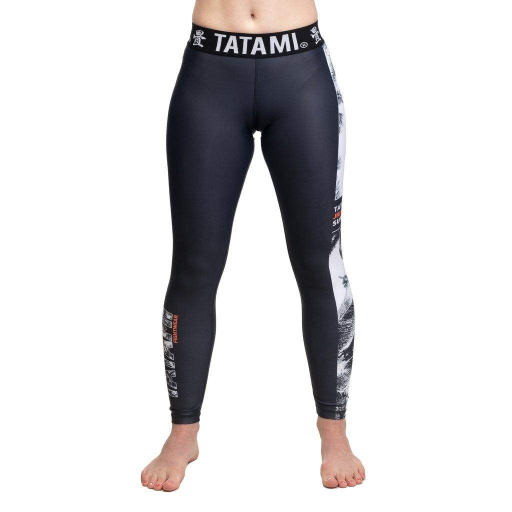 Ladies Tropic Black Grappling Spats - mmafightshop.ae