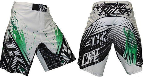 CONTRACT KILLER STAINED S2 SHORT White/Green
