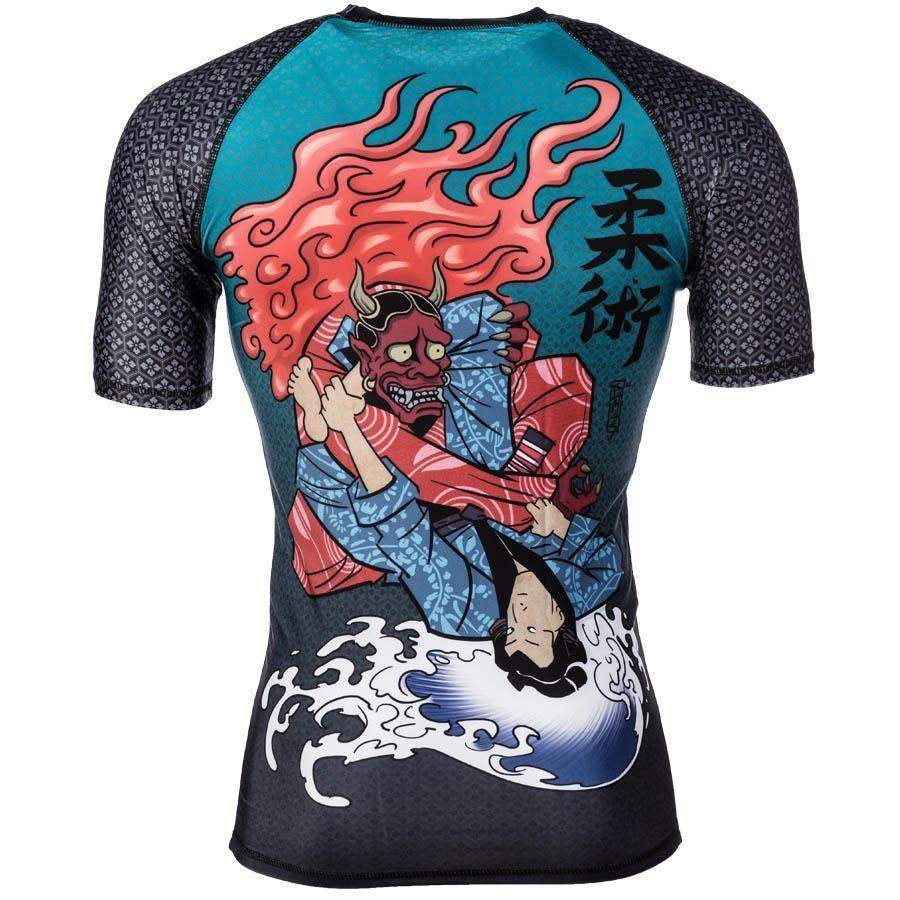 Devils Triangle S/S Rash Guard - mmafightshop.ae