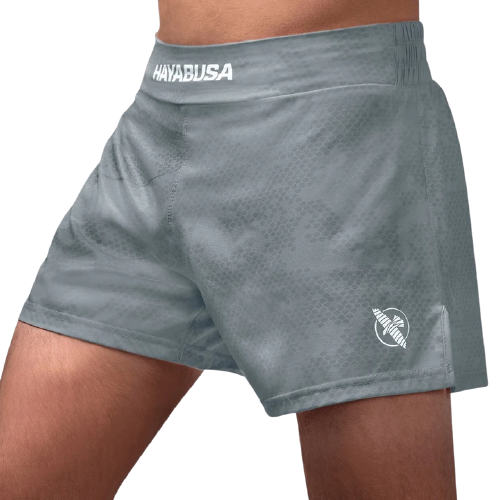 Arrow Kickboxing Shorts - Grey - mmafightshop.ae