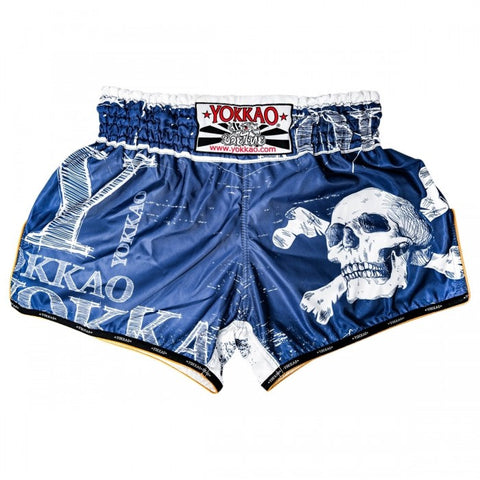 YOKKAO CARBONFIT SKULLZ MUAY THAI SHORTS