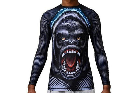 Limited Edition Break Point Gorilla Warfare Jiu-Jitsu Rash Guard