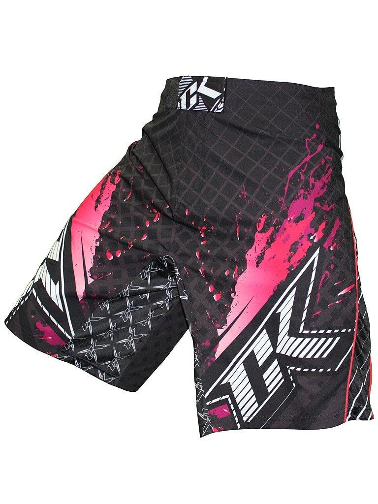 CONTRACT KILLER STAINED S2 SHORT Pink/Black - mmafightshop.ae