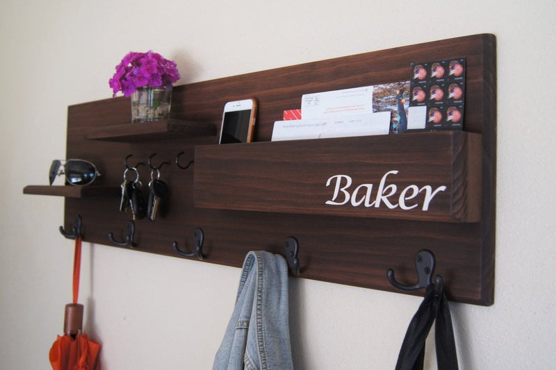 Personalized Entryway Organizer