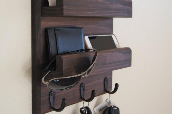 Key Rack Mail Holder