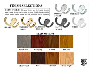 Finish and Hook Selection