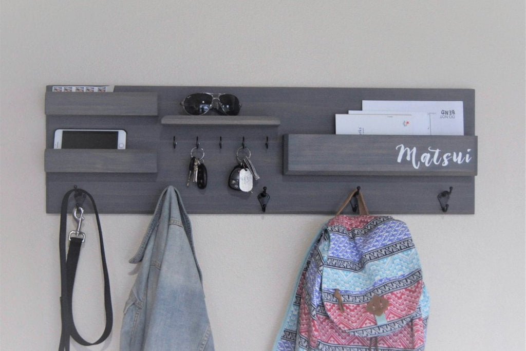 Everything Entryway Organizer with Hooks