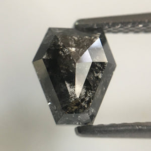 Natural Diamond Geometric shape 1.24 Ct 7.00 mm X 6.10 mm Fancy Grey Color, i3 Fancy Shape Brilliant grey Diamond Use For Sale SJ20/04 - Amba Jewel
