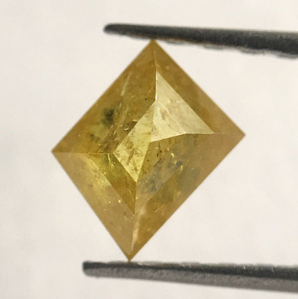 0.42 Ct Yellow Color geometric shape Natural Loose Diamond, 5.10 mm X 4.00 mm x 2.50 mm Fancy Shape Natural Loose Diamond For ring SJ29/06 - Amba Jewel