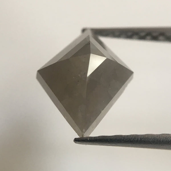 Natural Fancy grey Color 1.89 Ct Kite shape  Diamond 10.17 mm X 7.57 mm X 4.22 mm Excellent Diamond quality  AJ01/07 - Amba Jewel