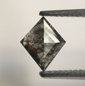 0.77 Ct Fancy Grey Geometric Shape Natural Diamond, 8.27 mm X 6.80 mm X 2.14 mm Rhombus shape Natural Diamond SJ43/58 - Amba Jewel