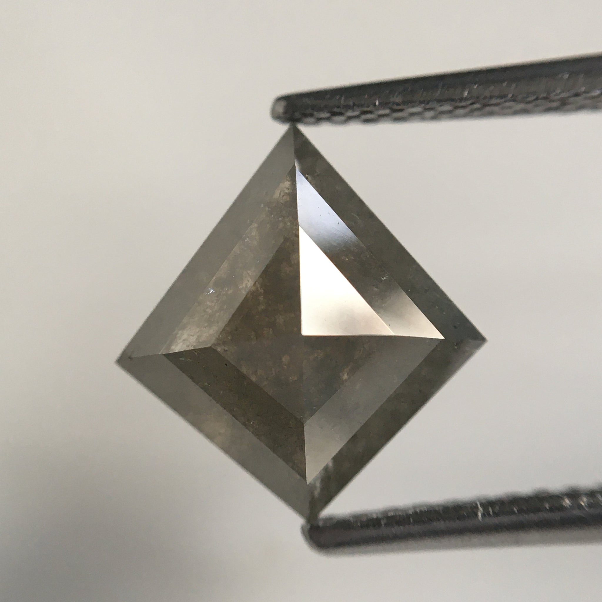 2.69 Ct Natural Diamond Kite Shape, 10.55 MM X 9.72 MM X 4.42 MM Fancy Grey Color Geometric shape natural diamond for Jewelry SJ64/43 - Amba Jewel