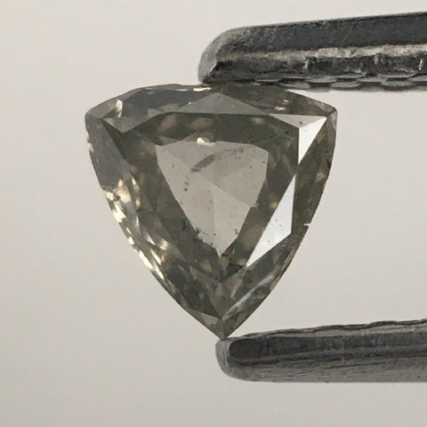 0.19 Ct Triangle Shape Natural Diamond Fancy Color 3.92 mm x 4.15 mm X 1.66 mm Polished Diamond s SJ09/20 - Amba Jewel