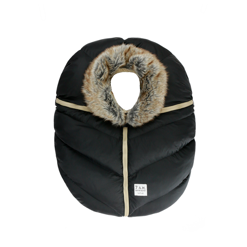 Car Seat Cocoon - Faux Fur