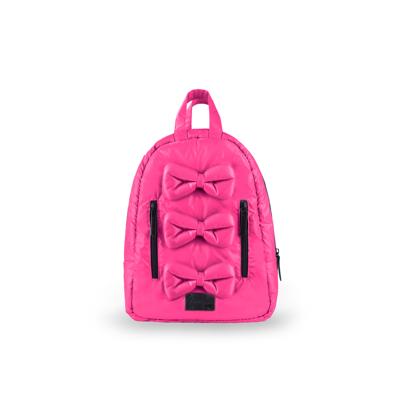 MINI Bows Backpack - Hot Pink