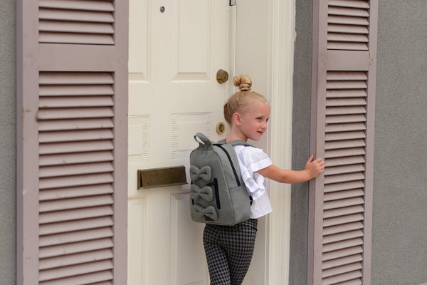 MINI Bows Backpack - Cotton Canvas