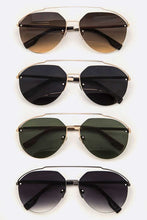 Load image into Gallery viewer, BLAZE BROW BAR AVIATORS