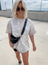 Load image into Gallery viewer, TEGAN TIE DYE OVERSIZED TEE