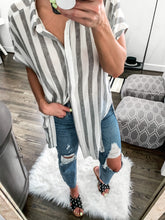 Load image into Gallery viewer, OCEAN BREEZE STRIPED TUNIC