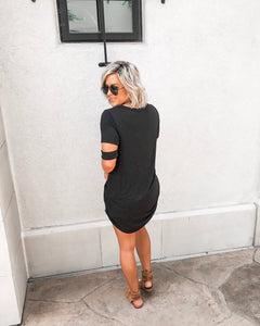 ONYX HI-LOW TUNIC