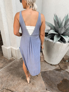 CAPRI SLEEVELESS MAXI TUNIC