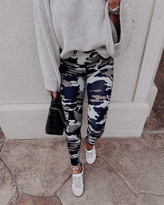 IN THE JUNGLE HIGH WAISTED LEGGINGS