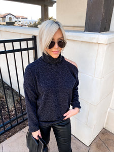 DEL MAR CUT OUT TURTLENECK THERMAL