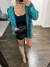 Load image into Gallery viewer, JADED PLAID BUTTON DOWN FLANNEL